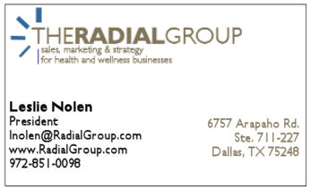 Leslie's original - traditional - business card