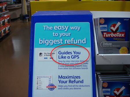 TurboTax marketing example