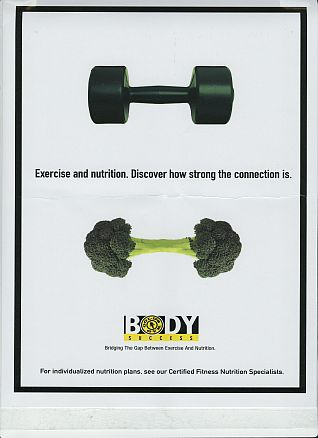 Gold's broccoli ad