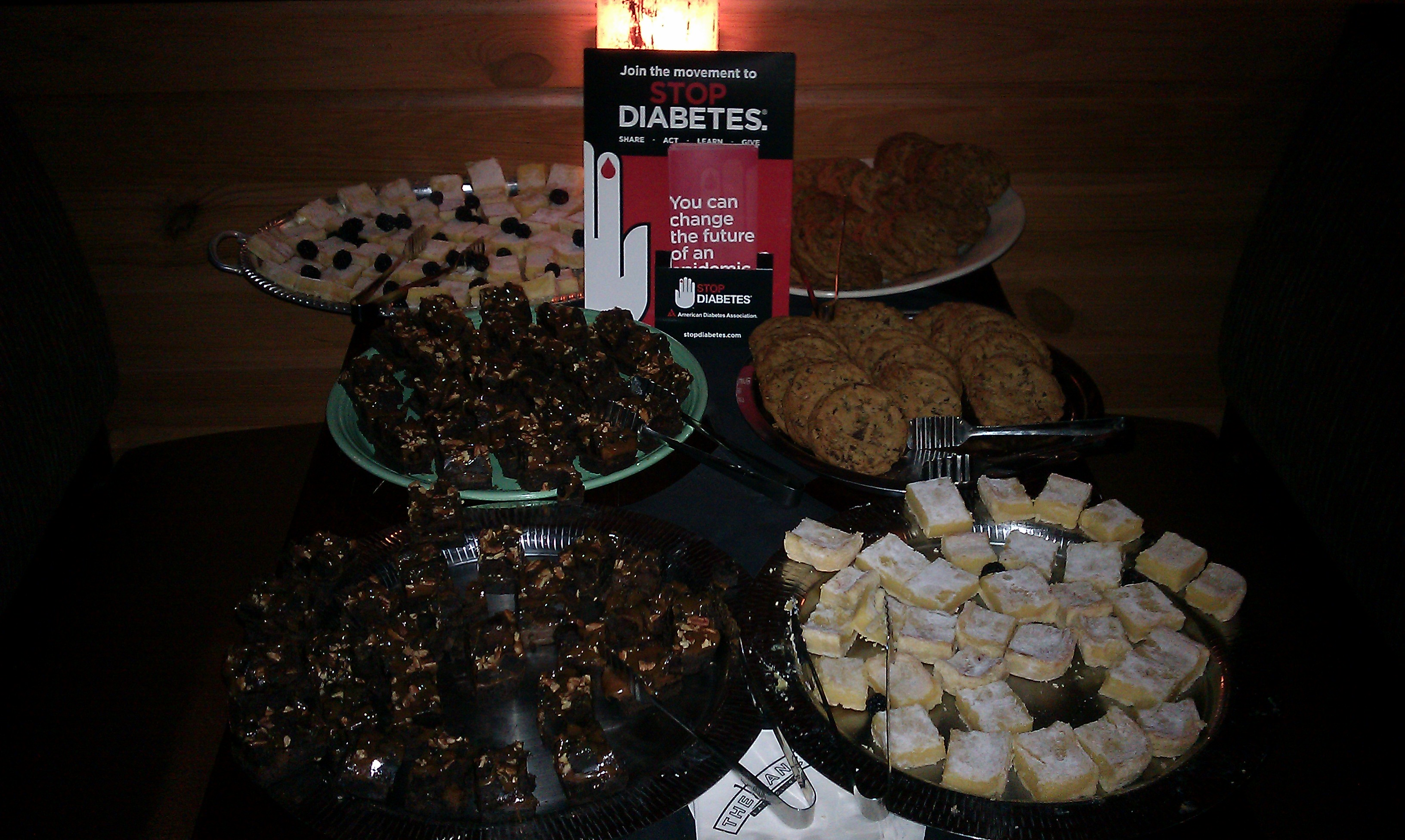 American Diabetes Association serves cookies, brownies and more!